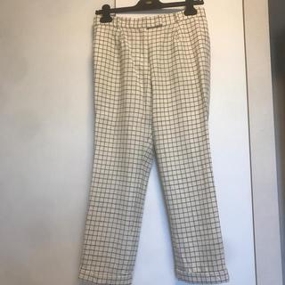 デミルクスビームス(Demi-Luxe BEAMS)のウィンドペン チェック柄 パンツ(クロップドパンツ)