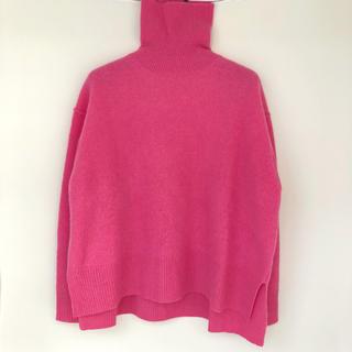 LE CIEL BLEU - 最後1時間特別15800★ほぼ新品★ルシェルブルー ウールカシミヤセーター