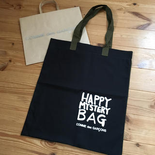 COMME des GARCONS - コムデギャルソン 2019 HAPPY MISTERY BAG 限定トートバッグ