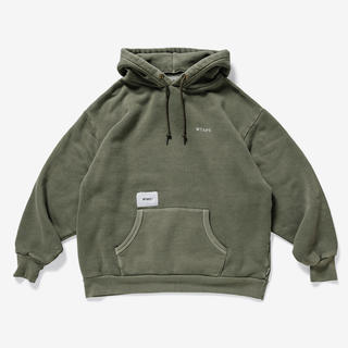 W)taps -  wtaps COLLEGE. DESIGN HOODED 03 19aw S
