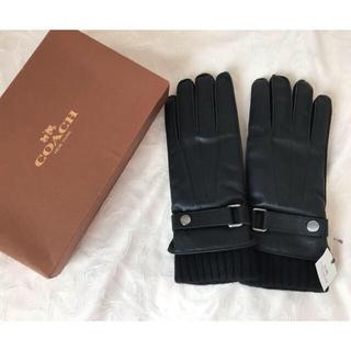 コーチ(COACH)の新品 コーチ グローブ メンズ(手袋)