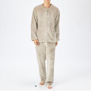 MUJI (無印良品) - 【新品タグ付き】無印 あたたかファイバー着る毛布パジャマ