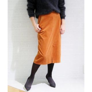 プラージュ(Plage)のプラージュ plage ビアンカラーニコールストレートスカート(ひざ丈スカート)
