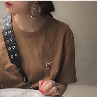 TODAYFUL - メゾンキツネ  フォクス ヘッドパッチ Tシャツ
