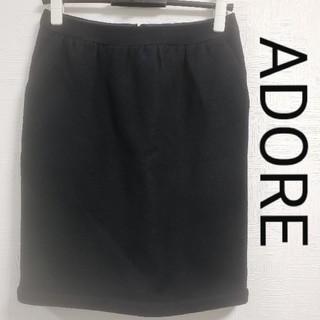 ADORE - ADOREスカート   黒 S~Mサイズ