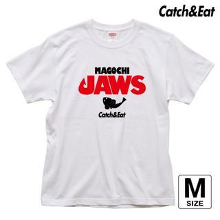 Catch&Eat【MAGOCHI JAWS Tシャツ】【ホワイト M】(ウエア)