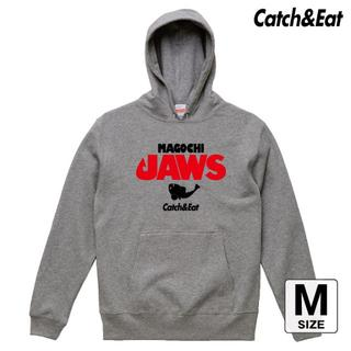 Catch&Eat【MAGOCHI JAWS パーカー】【グレー M】(ウエア)