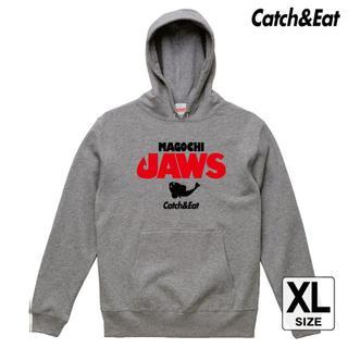 Catch&Eat【MAGOCHI JAWS パーカー】【グレー XL】(ウエア)
