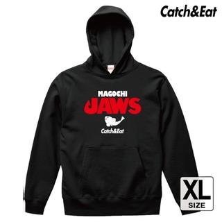 Catch&Eat【MAGOCHI JAWS パーカー】【ブラック XL】(ウエア)