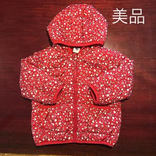 PETIT BATEAU - プチバトー 花柄 中綿 アウター ジャンパー コート