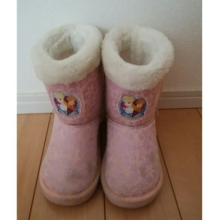 アナと雪の女王 - アナ雪 ブーツ 18センチ