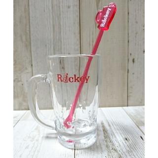 サントリー(サントリー)の☆Rickeyグラスとマドラーのセット☆(アルコールグッズ)