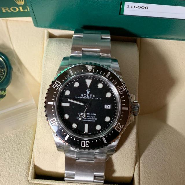 ヴァン ガード フランク 、 ROLEX - ROLEX    SEA-DWELLER 4000の通販 by deep