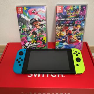 Nintendo Switch - 任天堂 Switch 本体+ソフト2本セット