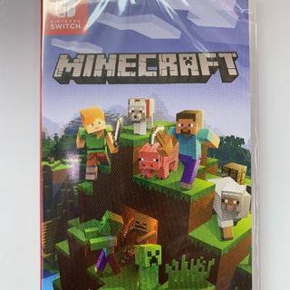 ニンテンドースイッチ(Nintendo Switch)の 新品 Switch マインクラフト Minecraft 即購入OK(家庭用ゲームソフト)