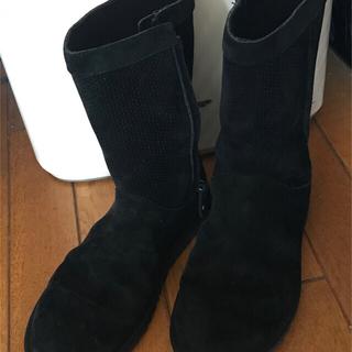 アグ(UGG)のUGG  ミドルブーツ ブラック(ブーツ)
