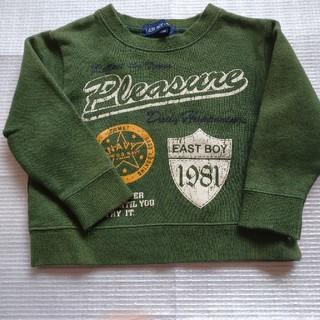 イーストボーイ(EASTBOY)のイーストボーイ  裏起毛 トレーナー 90(Tシャツ/カットソー)