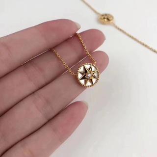 Dior - DIOR八芒星羅針盤 ネックレス