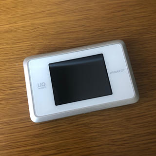 エーユー(au)の【美品】WiMAX WiFiルーター(その他)
