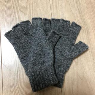 ジョンストンズ(Johnstons)のジョンストンズ 手袋 カシミアグローブ ダークグレー(手袋)