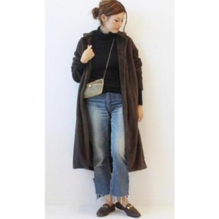 ドゥーズィエムクラス(DEUXIEME CLASSE)の美品 ドゥーズィエムクラス DE BALL FUR コート(毛皮/ファーコート)