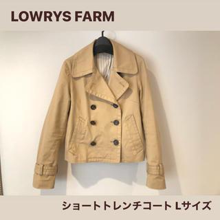 ローリーズファーム(LOWRYS FARM)のLOWRYS FARM ショート トレンチコート Lサイズ ローリーズファーム(トレンチコート)