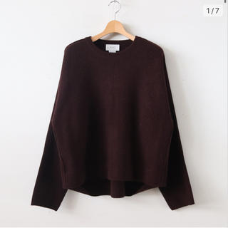 7G ALPACA WOOL CARDIGAN RIB STICH KNIT
