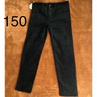 COMME CA ISM - ◇新品タグ付き コムサイズム ◇ロングパンツ 150 ブラック
