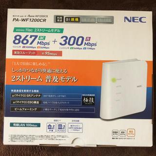 エヌイーシー(NEC)のNEC Wi-Fiルーター 無線LAN(PC周辺機器)