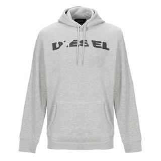 DIESEL - DIESEL ロゴ パーカー メンズ Sサイズ グレー