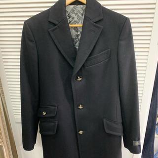 ヴィヴィアンウエストウッド(Vivienne Westwood)のVivienne westwood man コート 美品(チェスターコート)