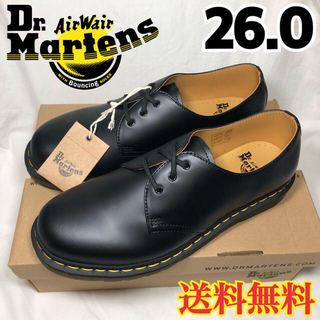 ドクターマーチン(Dr.Martens)の新品★ドクターマーチン 3ホール 1461 3アイ ギブソン ブラック 26.0(ドレス/ビジネス)