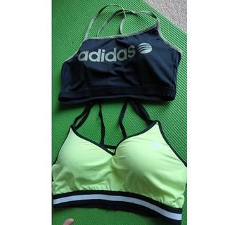 adidas - アディダス スポーツブラ セット