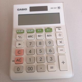 CASIO - CASIO 電卓 MW-100T