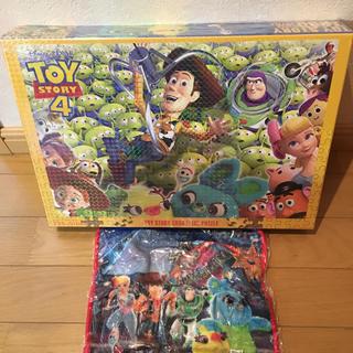 ディズニー(Disney)のトイ・ストーリー4 1000ピースパズル タオルセット(キャラクターグッズ)