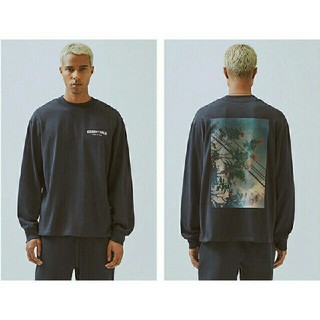 FEAR OF GOD - FOG ESSENTIALS PHOTO SERIES L/S BLACK