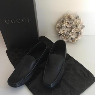 Gucci - GUCCI グッチ 23.5cm 靴 ブラック⭐︎本物保証⭐︎ 未使用品 袋付き