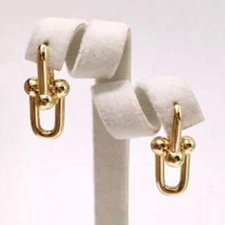 Tiffany & Co. - 人気 ピアス  ハードウェア gold  ティファニーモデル