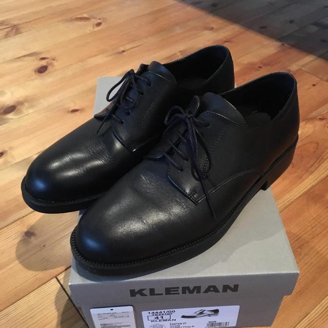 Paraboot(パラブーツ)のクレマン  パスタン  ポストマンシューズ  41  26.5  美中古 メンズの靴/シューズ(ドレス/ビジネス)の商品写真