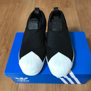 adidas - 一度着用のみ☆adidas ss SLIPON 22.5センチ
