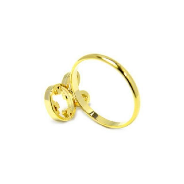 【新品!うさぎのピンキーリング】 レディースのアクセサリー(リング(指輪))の商品写真
