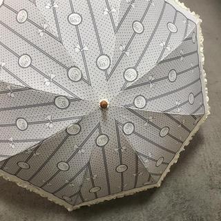 サンリオ(サンリオ)の【新品)】晴雨兼用 日傘  雨傘 Hello kitty ハローキティ 折り畳み(傘)