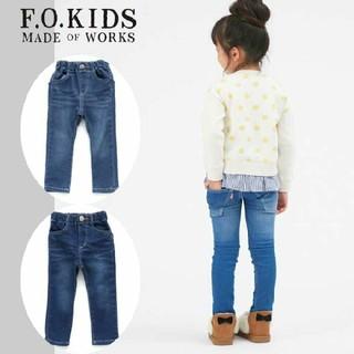 エフオーキッズ(F.O.KIDS)のエフオーキッズ   F.O.kids  デニム ストレッチ スキニー 130(パンツ/スパッツ)