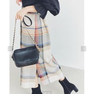 UNITED ARROWS - 新品タグ付き♡チェックスカート EMMELREFINES