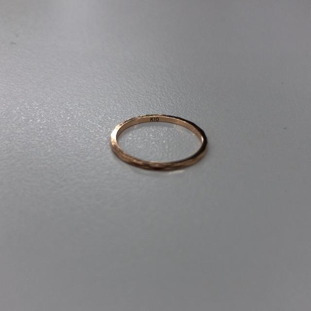 NOJESS(ノジェス)の【げん様❇︎専用】ノジェス ピンキーリング ♯1 レディースのアクセサリー(リング(指輪))の商品写真
