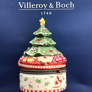 ビレロイアンドボッホ(ビレロイ&ボッホ)のビレロイ&ボッホ クリスマスコレクション クリスマスツリー型アクセサリーケース(置物)