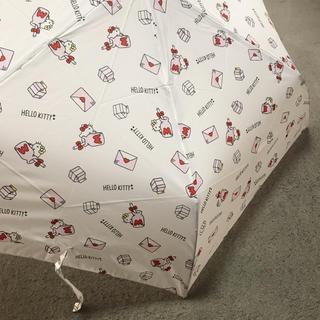 サンリオ(サンリオ)の新品⭐︎ ハローキティ 折りたたみ傘(傘)