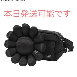 ヘッドポーター(HEADPORTER)の村上隆 ポーター 新品 ウエストバック 限定 ブラック PORTER(ウエストポーチ)