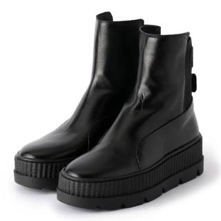 プーマ(PUMA)のpuma×FENTY コラボブーツ  チェルシーサイドゴアトラックソール(ブーツ)