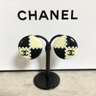 CHANEL - 正規品 シャネル イヤリング ココマーク パール バイカラー ゴールド 真珠 2